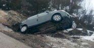 Memurları Taşıyan Araç Takla Attı: 7 Yaralı
