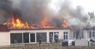 Merhum Kralın Çiftliğinde Yangın