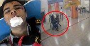 Metroda Dehşet! Magandalar Bu Hale Getirdi