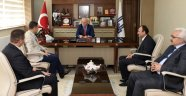Milli Eğitim Müdürleri Başkan Sekmen'i Ziyaret Etti