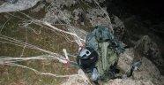 Pilota Ait Olduğu Değerlendirilen Paraşüt Bulundu