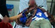 Polise Atmak İstediği Bomba Elinde Patladı