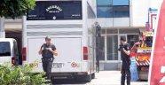 Polisi Alarma Geçiren Otobüs