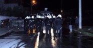 Polisten İzinsiz Gösteriye Müdahale