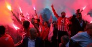 Şampiyon Ümraniyespor'a Coşkulu Kutlama