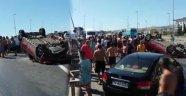 TEM'de Feci Kaza: 1'i Ağır 4 Yaralı