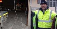 Temizlik İşçisi Elektrik Akımına Kapıldı