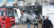 Tokat OSB'de Korkutan Yangın