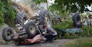 Traktörle Şarampole Yuvarlanan İşçi Öldü
