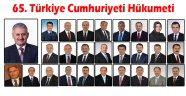 Türkiye Cumhuriyeti'nin 65. Hükumeti Belli Oldu