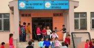 Yakılan Okulda Ders Zili Yeniden Çaldı