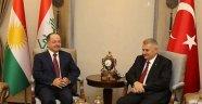 Yıldırım İle Barzani'nin Görüşmesi Sona Erdi