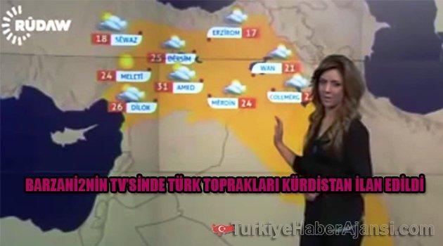 RUDAW TV'de Türk Topraklarını 'Kürdistan' İlan Ettiler!