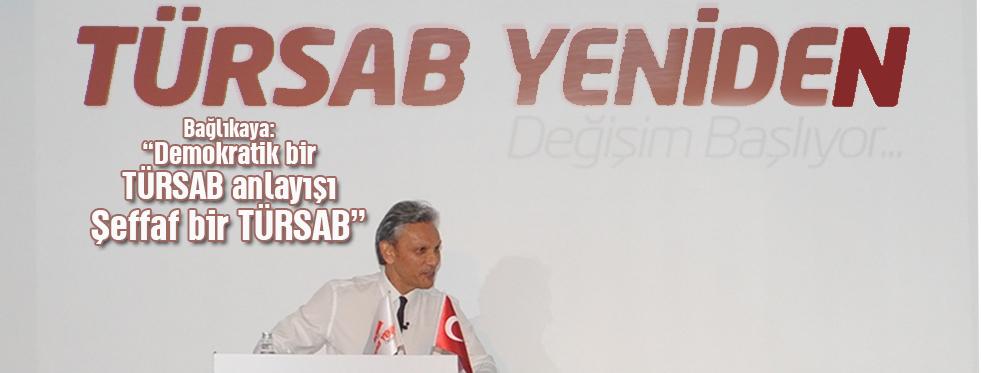 Bağlıkaya: 'Türsab'ı Turizmcilere Bırakın'
