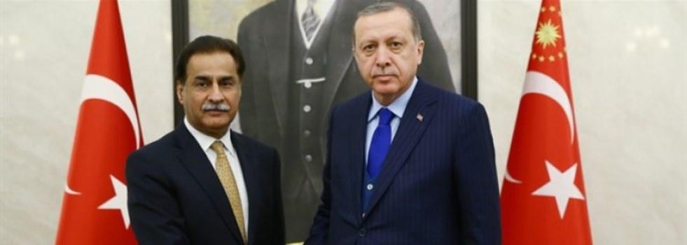 Cumhurbaşkanı Erdoğan Sadık'ı Kabul Etti