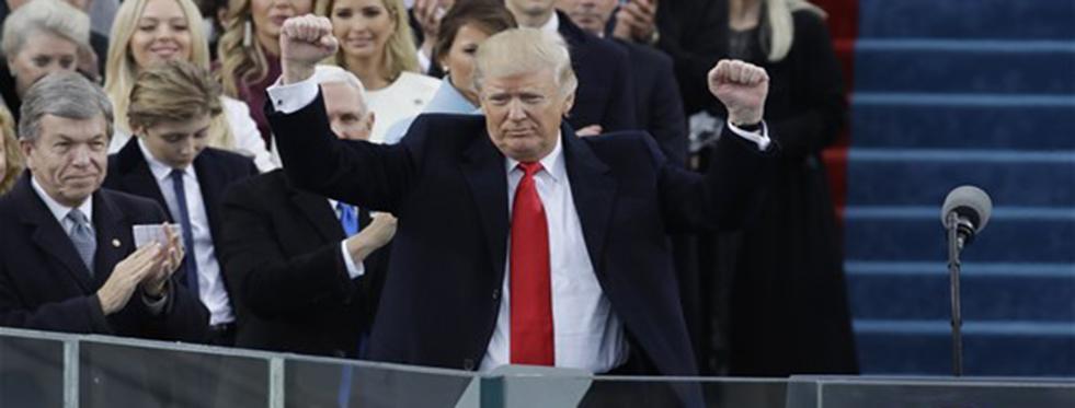 Donald Trump'ın Yemin Konuşması
