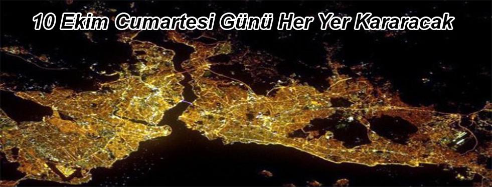 İstanbul Cumartesi Günü Kararacak