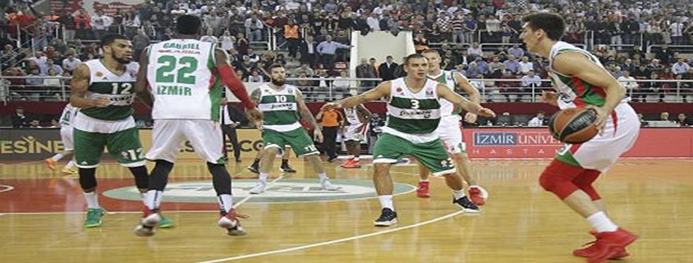 Pınar Karşıyaka-Panathinaikos: 66-69