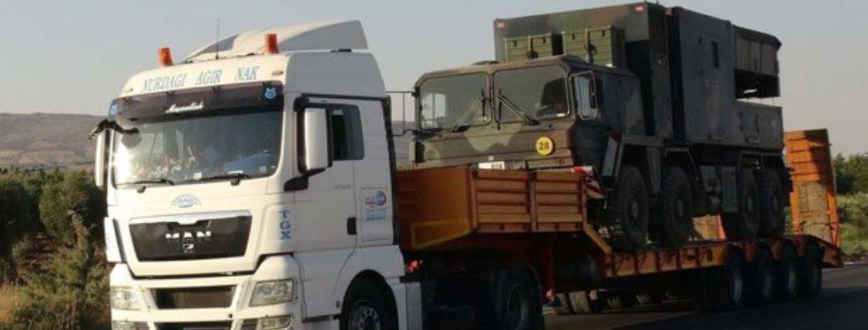 Suriye Sınırına Top ve Füze Bataryası