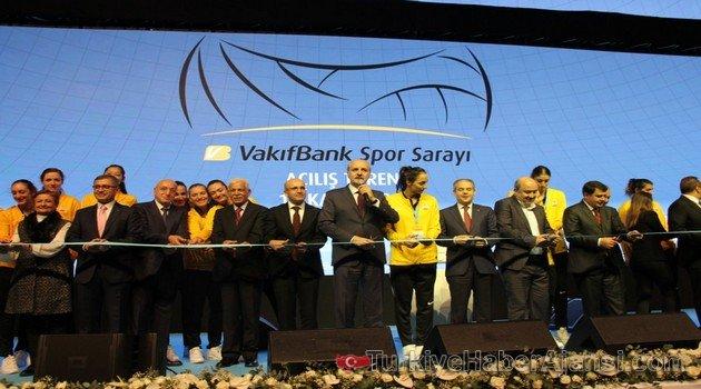 VakıfBank Spor Sarayı Görkemli Bir Törenle Açıldı