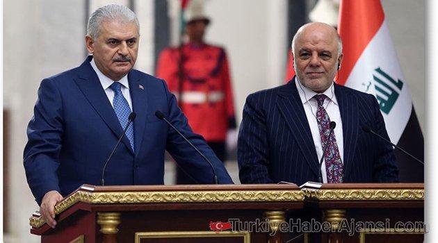Yıldırım Irak Başbakanı İbadi İle Görüştü