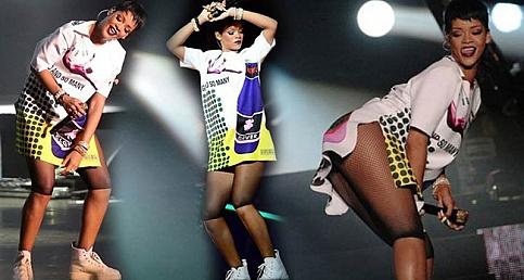 Rihanna Uyuşturucu Etkisinde Sahneye Çıktı