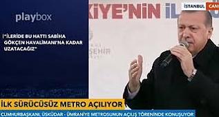 Erdoğan'dan 'Ataşehir' Yorumu: Daha Çok Şeyler Gelecek
