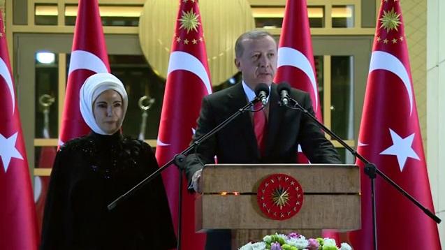 Cumhurbaşkanı Erdoğan'dan 30 Ağustos Resepsiyonu