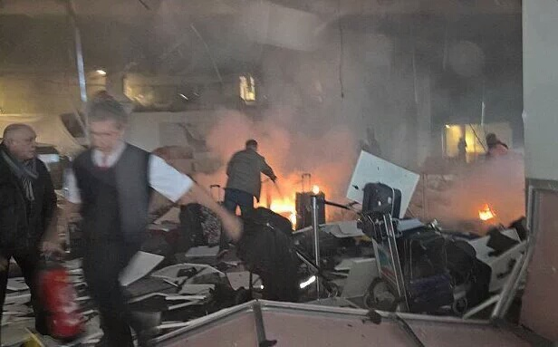 Atatürk Havalimanı'nda Teröristin Vurulma Anı