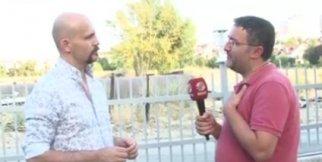 Muhabir Atalay Demirci'nin Yüzüne Tükürdü