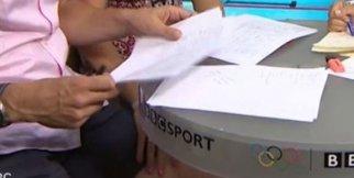 Olimpiyatlarda Taciz Ekranlara Yansıdı