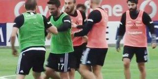 Beşiktaş Antremanında Gerginlik